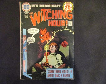 The Witching Hour #45 D.C. Comics 1974