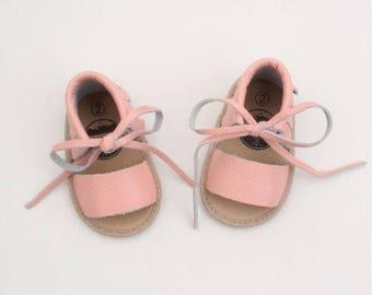 Baby sandal / leather baby sandal / boho sandal / pink sandal