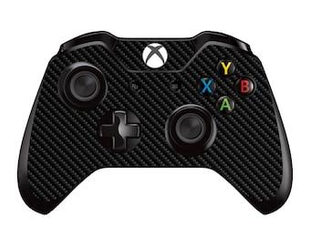 Xbox One Controller Skin - Carbon Fiber - Black