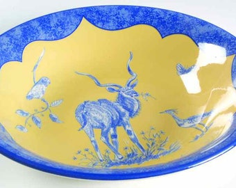 Large Rare Lynn Chase African Inspirations Bowl