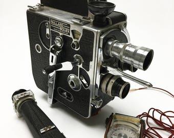 Paillard-Bolex 8mm Movie Camera