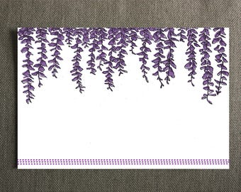 Wisteria Note Cards