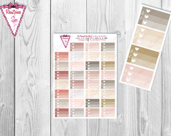 Printable To Do Half Box Checklists - Neutral Colors