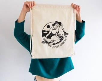 Cotton tote Bag // Phoque Everyone