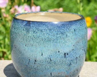 Small Teal Planter