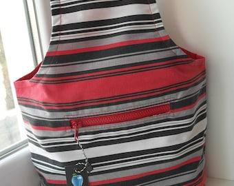 Knitting bag Bag for Knitting Handcraft bag Crochet Projects Yarn Bag  Project Bag needlework knitting Crochet