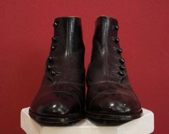 Original Italian Vintage 30's  shoes with spats