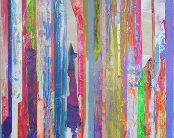 PRINT, 8x10, Abstract Art, Mixed Media, Wall Art, Art Prints