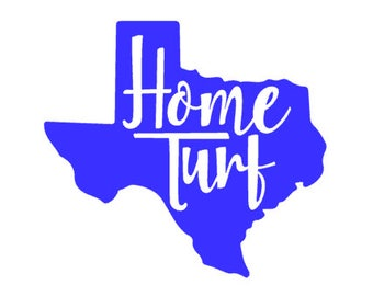 Home Turf vinyl sticker