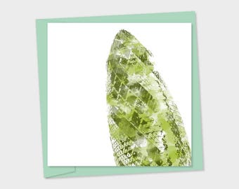 Gherkin London – birthday card