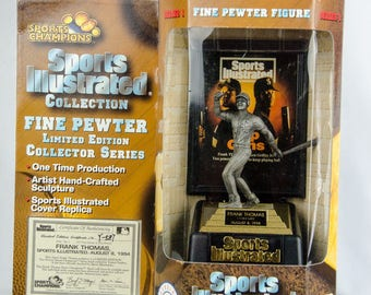 Sports Illustrated Champions Chicago White Sox Frank Thomas Pewter Figure