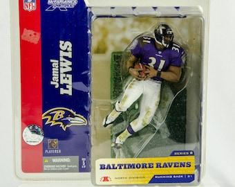 McFarlane's Sportspicks Series 8 Jamal Lewis 31 Action Figure Baltimore Ravens