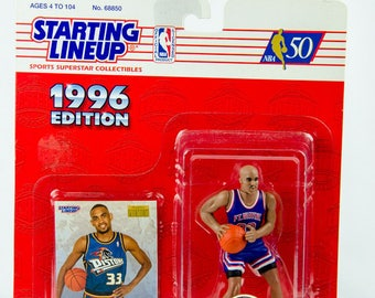 Starting Lineup NBA 1996 Grant Hill Detroit Pistons Action Figure