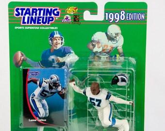 Starting Lineup 1998 NFL Lamar Lathon Action Figure Carolina Panthers