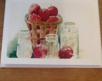 Apples and Ball jars