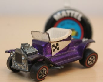 Original Hot Wheels Redline - Hot Heap & Button 1968 USA