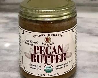 USDA Certified Organic Pecan Butter