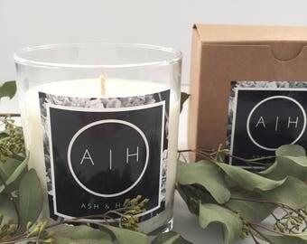 Soy Candle | Eucalyptus Soy Candle | Eucalyptus Candle