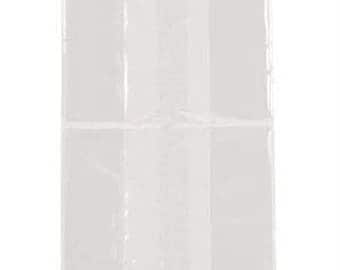 100 Cellophane Bags 6 x 14 3/4 Inches