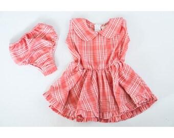 Plaid litto dress