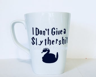Coffee Mug | Funny Gift |  Gift Idea | Coffee Cup | Harry Potter Mug | Harry Potter Obsessed | Team Slytherin