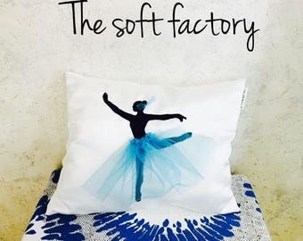Pillow ballerina with tulle skirt