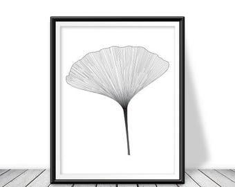 Botanical download, Botanical digital download, Tropical printable, Botanical instant download,  Tropical download, Tropical leaf print