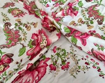 Vintage Talbots Silk Scarf