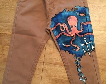 Baby boy octopuss jeans