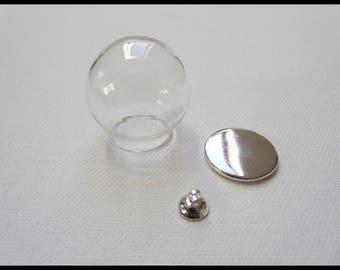 Set of 5 kits for pendant glass globe