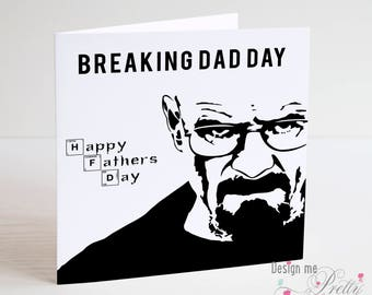 Breaking Bad Father's Day Card