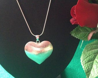 925 Sterling Silver Heart Pendent