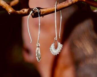 Sterling Silver Moonlight Earrings