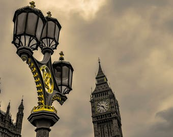 Big Ben, London, U.K,Britain, Travel, Fine Art Photography