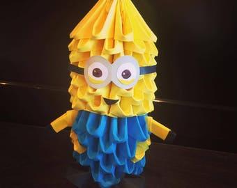Minion 3D Origami