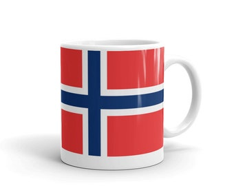 Flag of Norway - Mug made in the USA