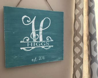 Family Name or quote * Distressed * additional colors Avail * 15x15