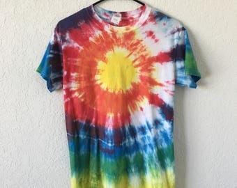 Bullseye Tie Dye T-Shirt, size SMALL