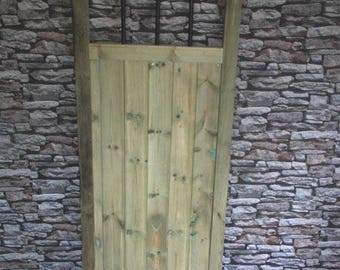 Metal Slatted Through Top Gate (6Ft)