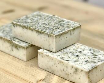 Lavender & Chamomile Tea Goat's Milk Soap (Sleepy Time Soap)
