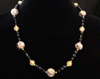 Murano Gold Necklace