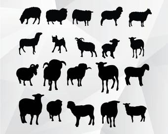 Sheep svg,png,jpg,eps/Sheep clipart for Print,Design,Silhouette,Cricut and any more