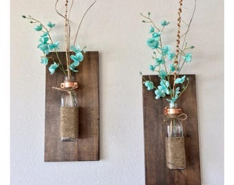 Rustic Wall Sconce (Set of 2)
