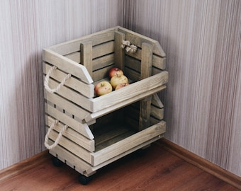 vegetables and fruits box