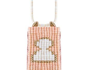 Keyhole pendant necklace