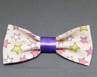 "Bow tie for cats / dogs ""Color stars"""