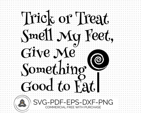 trick or treat svg files smell my halloween cut file halloween cricut svg halloween clipart halloween font svg fall svg dxf eps png - Good Halloween Font