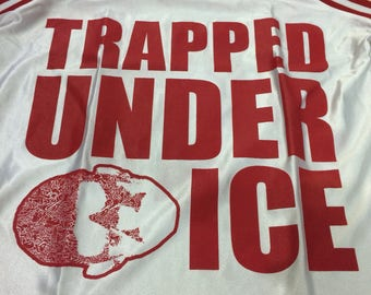 Vintage Trapped under ice jersey m size hardcord
