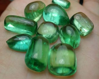 134 carats brilliant shine hiddenite kunzite cabs from afghanistan