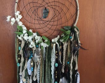 Fairy agate wrapped Dreamcatcher